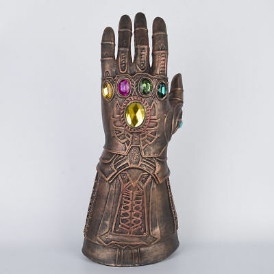 Thanos Infinity Gauntlet Latex Cosplay Gloves Avengers: Infinity War COS Props
