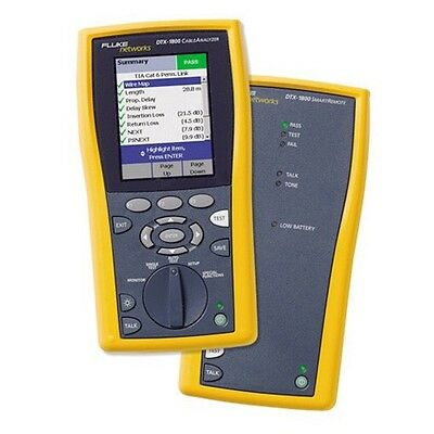 Fluke DTX-1200, DTX-1800: Calibration Service NOW WITH CAL DATE CHANGE SOFTWARE