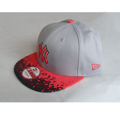New York Yankees Officially Licenced MLB New Era Strapback 9FIFTY 'Lava' Cap