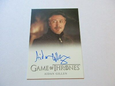 Game of Thrones Season 7 - Aidan Gillen as Littlefinger Autograph Card