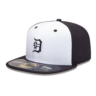 Detroit Tigers Officially Licenced Diamond New Era MLB 59FIFTY Fitted Cap