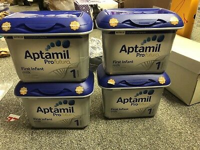 6xAptamil Profutura First Infant Milk Stage 1 from Birth 800g