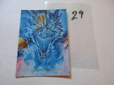 Game of Thrones Season 7 Hand Drawn Sketch Card by Michael Horgan - 29