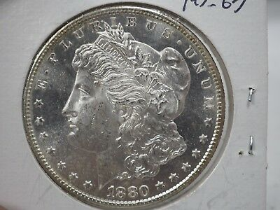 1880/79-S Morgan Silver Dollar. VAM-9. Top 100 Variety