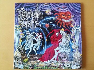 PSYCHOTIC WALTZ – A Social Grace 2LP (Century Media ‎– 9980561) clear Vinyl, lim