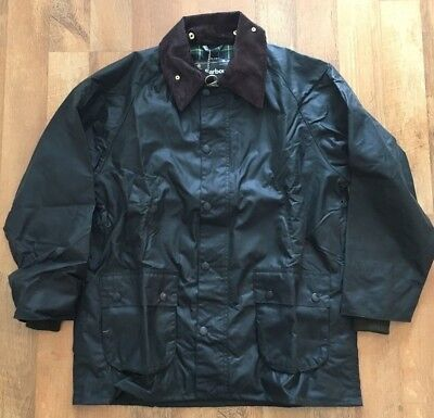 Barbour Classic Bedale Fit Wax Jacket Mens Size 42 Sage/Olive MSRP $379 BNWT