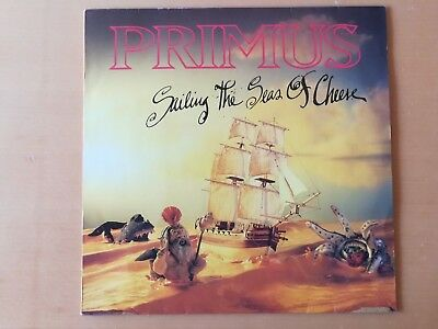 PRIMUS – Sailing The Seas Of Cheese LP (EastWest ‎– 7567-91659-1 Europe 1991)