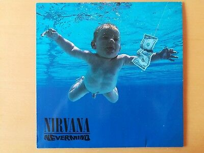 NIRVANA – Nevermind LP (Geffen Records ‎– GEF 24425, DGC 24425 1991 Europe)