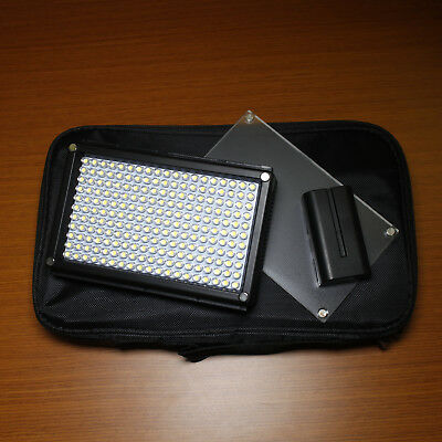 Fotodiox Pro LED 209AS Bicolor Photo/Video Dimmable Light NP-F Battery Powered