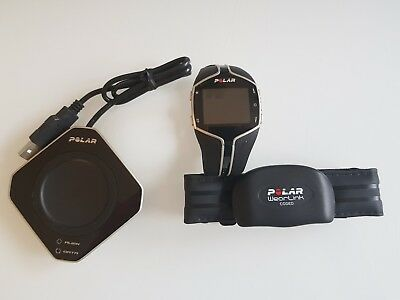 Polar FT80 Fitness Watch with HR Strap and Polar FlowLink Data Sync