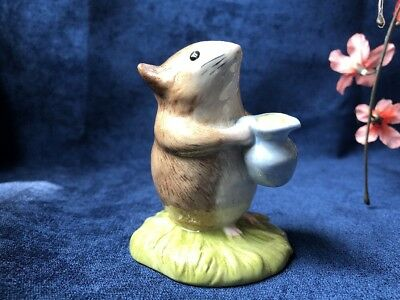 Beatrix Potter TIMMY WILLIE FETCHING MILK FIGURINE Beswick Royal Doulton NO BOX