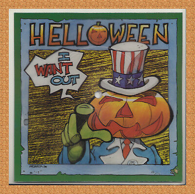 HELLOWEEN - I want out - Squared Picture Single