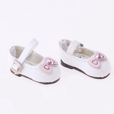 Doll Clothing Accessory Pure Manual Leather Shoes for 1/6 Blythe Licca Dolls