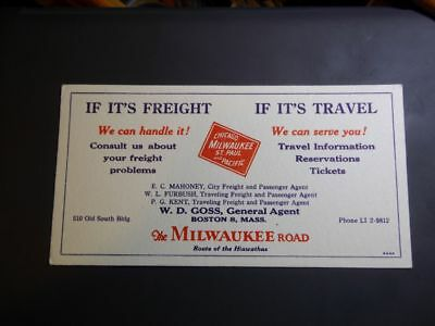 Chicago Milwaukee St. Paul and Pacific Railroad Co. Freight System Blotter