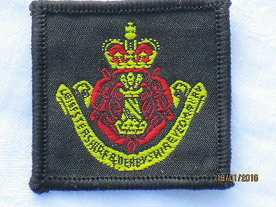 Leicestershire & Derbyshire Yeomanry, BERET BADGE Fabric