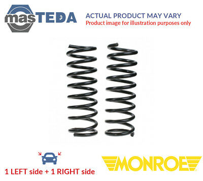 2x MONROE FRONT COIL SPRING PAIR SET SP0092 G NEW OE REPLACEMENT