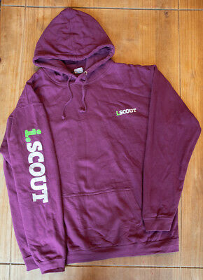 iScout Adult Hoodie / Hoody - Plum - XL Extra Large