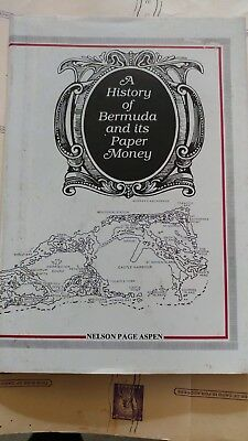 A History If Bermuda And Its Paper Money Signed By Author Nelson Page Aspen