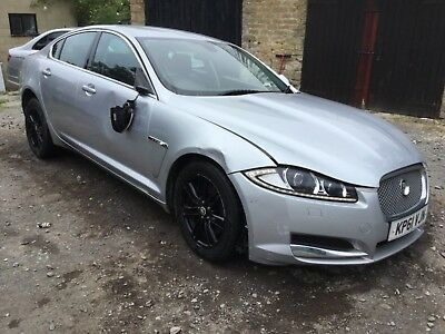 2011 JAGUAR XF LUXURY 2.2 DIESEL 8 SPEED AUTOMATIC - Damaged Salvage Repairable