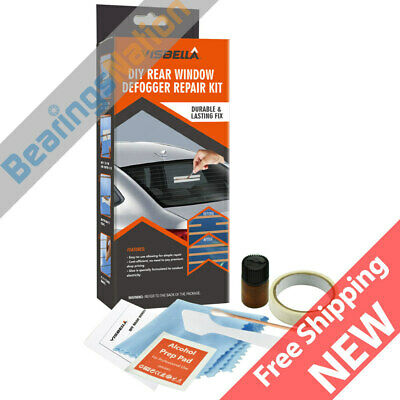 Visbella DIY Rear Window Defogger Repair Kit, Defogger Repair Tool, DIY Friendly