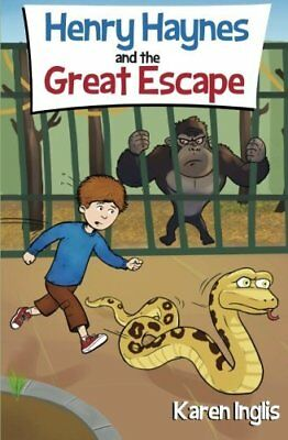 Henry Haynes and The Great Escape by Karen Inglis - Brand NEW Paperback