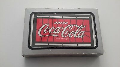 """Vintage """"drink Coca Cola"""" Playing Cards, Sealed"""