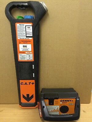Radiodetection C.A.T 2+ & Genny 2 Cable Locator Depth Kit Certificated