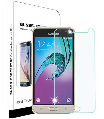 For Samsung Galaxy J3 Luna Pro Prime Emerge 2017 Screen Protector Tempered Glass