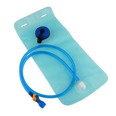 2 Litre Mouth Water Bladder Bag Pack Hydration Camping Climbing Sports Blue
