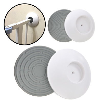 4-Pack Pressure Gate Wall Guard Protection Cups for Baby and Pet Safety