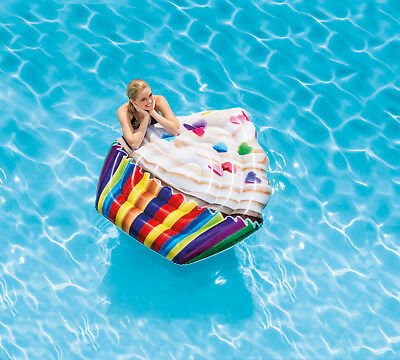 Intex Cupcake Mat Lounge Air Mattress Pool Bestway Floating Chair Swimming Pool