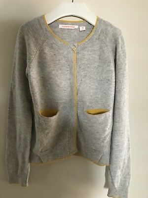 Girls Country Road Wool Cashmere Knit Cardigan Size 8