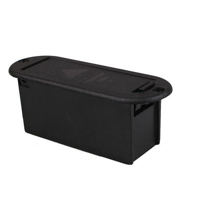 Guitar Bass Part Active Pickup 9V Volt Battery Cover Box Holder Compartment