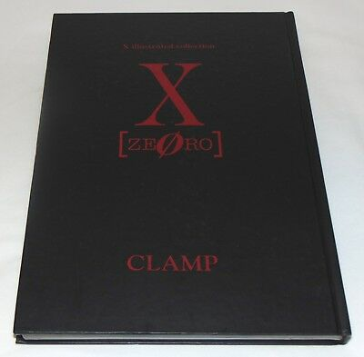 JAPAN CLAMP X Illustrated Collection X ZERO Art Book