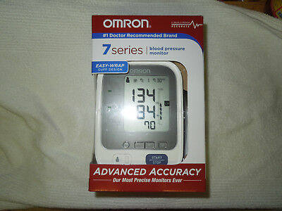 NEW! Omron 7 Series Upper Arm Blood Pressure Monitor with Cuff BP760N