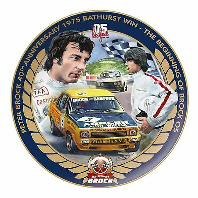 Peter Brock 40th Anniversary 1975 Bathurst Win