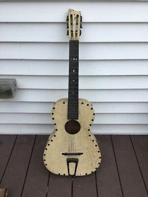 C. 1920s Guitar Richter Mfg. Co. Project restoration