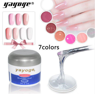 56g Strong Builder Gel for Nail Extension Camouflage UV/LED Dry Salon SPA Yayoge