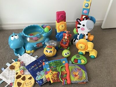Fisher Price Baby Toys and Cloth Books
