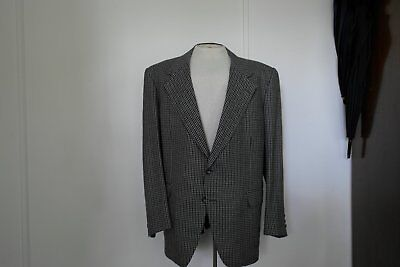 Men's Sam Moshous Tailored Houndstooth Cashmere and Wool Sportscoat