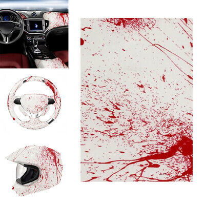 Blood  Hydrographic Water Transfer HYDRODIPPING Film Printing DIP Hydro