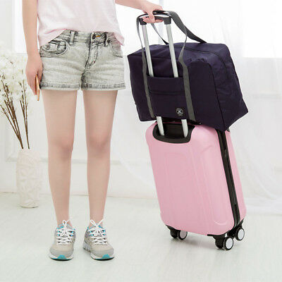 48CM Foldable Travel  Holdall Luggage Carry-on Hand Shoulder Flight Duffle Bag