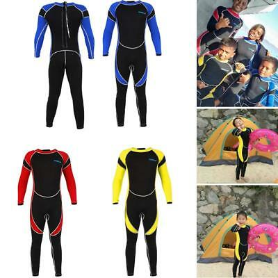 c545da275b Neoprene Wetsuit for Kids Boy Girl Surfing Snorkling Diving One Piece Suit  2.5mm