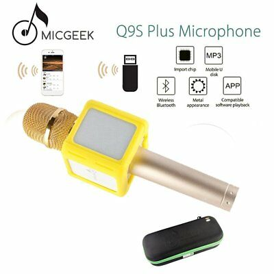 Q9S+ Wireless Bluetooth Handheld Microphone With Loudspeaker For Stage KTV LOT S