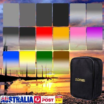 Zomei 143*100 GND+ND8 ND16 ND4 ND2 Square Z-PRO Series Camera Filters for MS