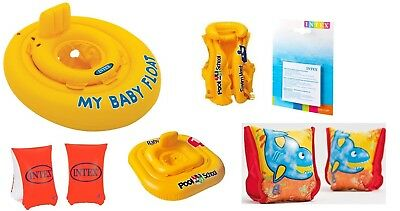 MY Baby Float Ring Deluxe baby Float Swim Seat Support Pool Inflatable 0 - 2 Yrs