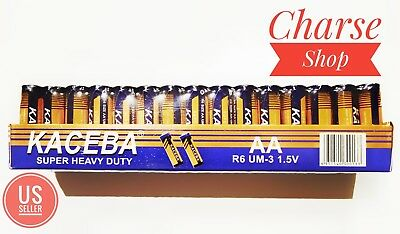AA Batteries 3 Pack of 60 EXTRA Heavy Duty 1.5V * 180 peices  * Free Shipping *