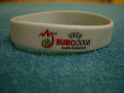 Armband Euro 2008  Canon, weiss