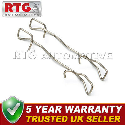 2x Brake Pad Retaining Spring Clips Fits Various Models