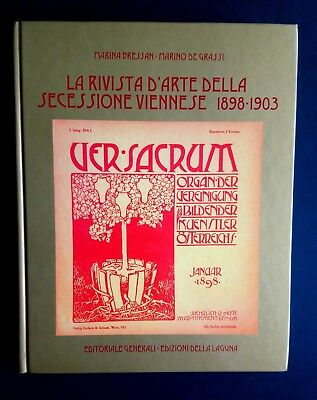 VER SACRUM The Journal of the Viennese Secession Rare Italian Volume Art Nouveau